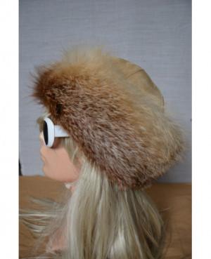 Kožešinová čepice