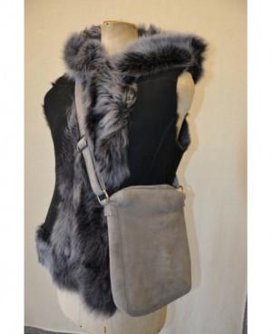Kožešinová kabelka