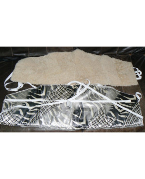 Kožešinový ledvinový pás