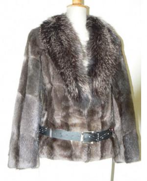 Dámský krátký kabátek se...