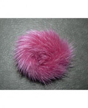 Norkový prstýnek - pink