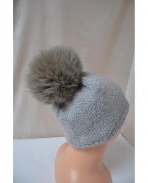 Pletená čepice s...