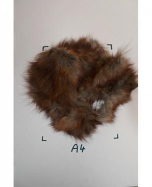 Kožešinový odkroj liška hnědá
