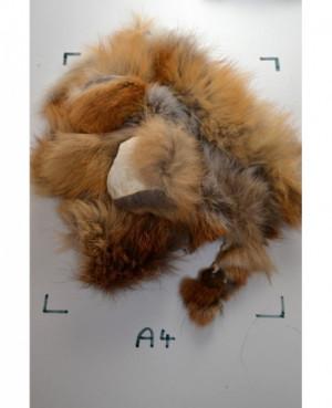 Kožešinový odkroj - liška