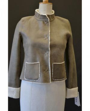 Kožešinová dámská bunda 36...